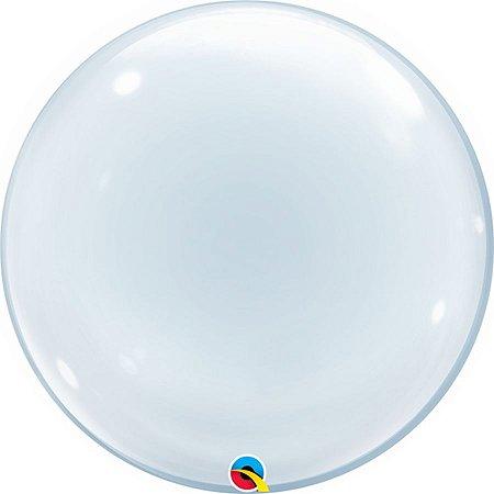 Balão Bubble Liso 24 Polegadas
