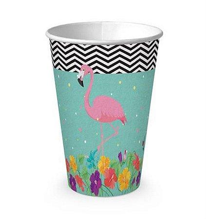 Copo de Papel - Flamingo c/8 unidades