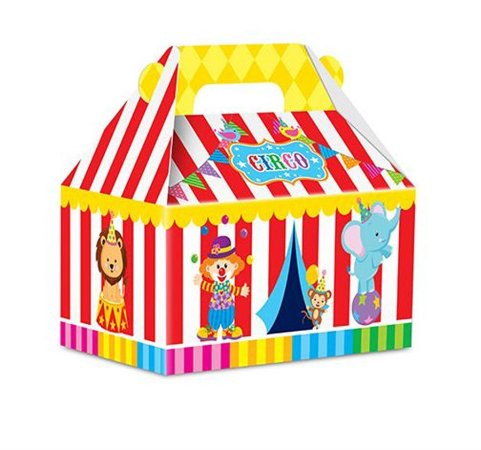 Caixa Surpresa - Circo c/ 8 unidades
