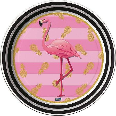 Prato - Flamingo c/ 8 unidades