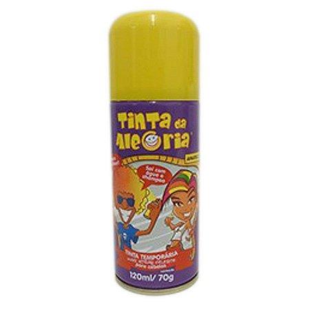 Tinta Temporária para o Cabelo Amarelo - Carnaval