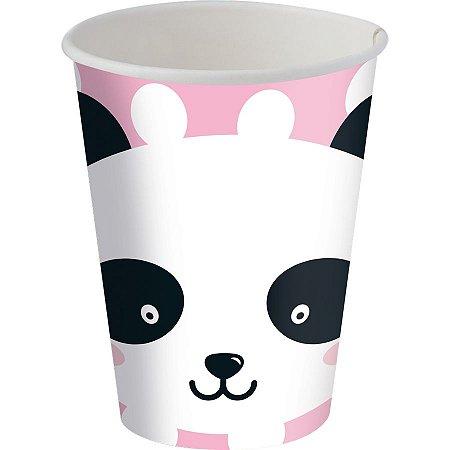 Copo de Papel - Panda c/8 unidades