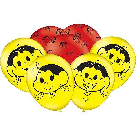 Balão Especial 9'' - Magali Melancia c/ 25 unidades