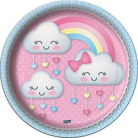 Prato - Chuva de Amor c/ 8 unidades