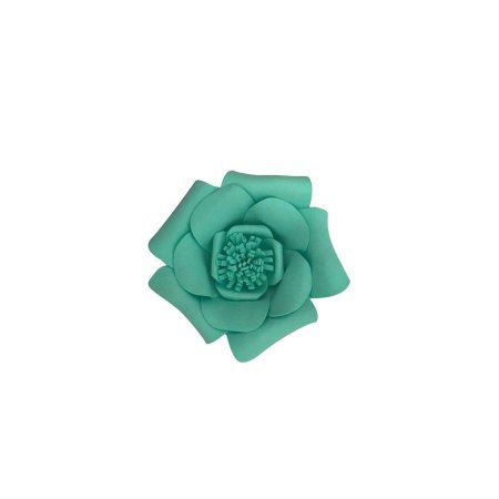Flor EVA Verde Água PP
