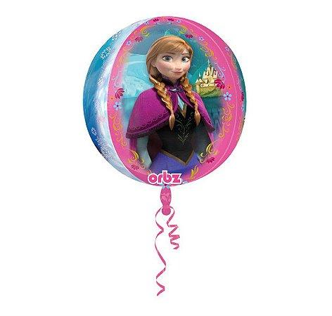 Balão Metalizado ORBZ Elsa e Ana Frozen