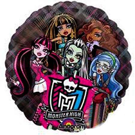 Balão Metalizado Monster Hight Amigas