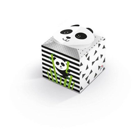 Caixa Para Lembrancinhas - Panda C/ 8 Unidades