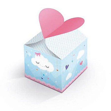 Caixa para Lembrancinhas - Chuva de Amor c/ 8 unidades