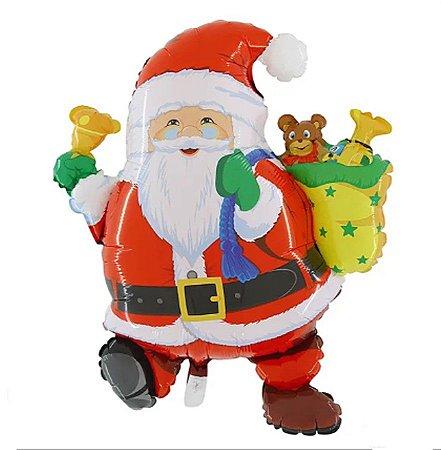Balão Metalizado Papai Noel - Natal