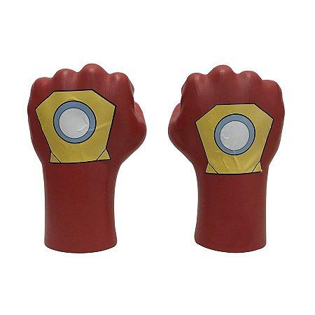 Mãos Do Super Herói Homem de Ferro Grande Leve De Plástico