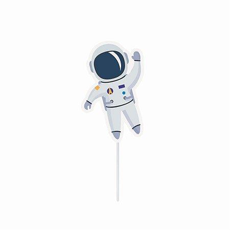 Topper Decorativo para Doces e Salgados - Astronauta c/ 10 unidades