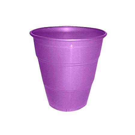 Copo de Plástico Reforçado Roxo c/ 10 unidades