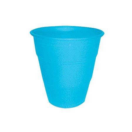 Copo de Plástico Reforçado Azul Claro c/ 10 unidades
