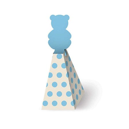 Caixa Bala - Chá de Bebê Menino c/ 8 unidades