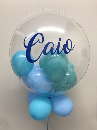 Balão Bubble de Silicone Personalizado com gás hélio