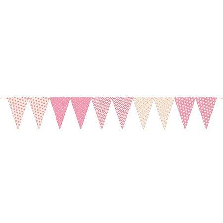 Bandeirola - Chá de Bebê Menina c/ 1 unidade