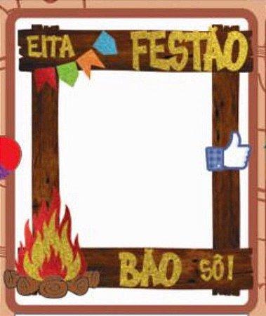 Painel Moldura para Foto Festa c/ 1 unidade - Festa Junina