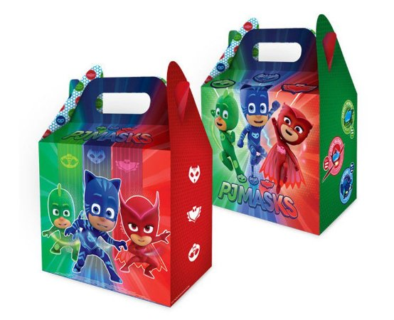 Caixa Surpresa Maleta - PJ Masks c/ 8 unidades