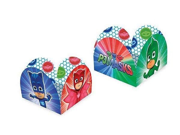 Porta Forminha - PJ Masks c/ 50 unidades