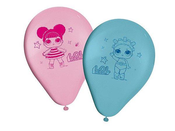 Balão Especial 9'' - Boneca LOL c/ 25 unidades