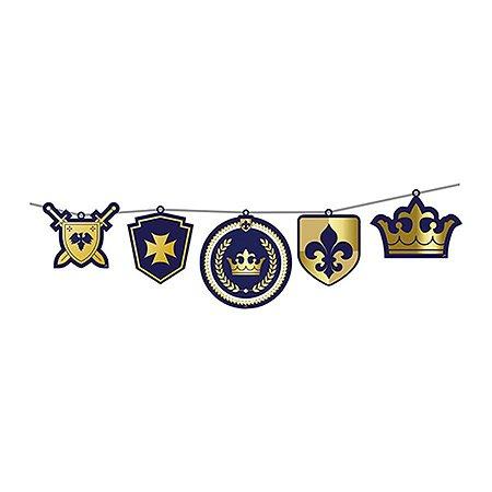 Faixa Decorativa - Realeza Menino c/ 1 unidade