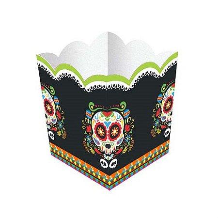 Cachepot - Caveira Mexicana c/ 8 unidades