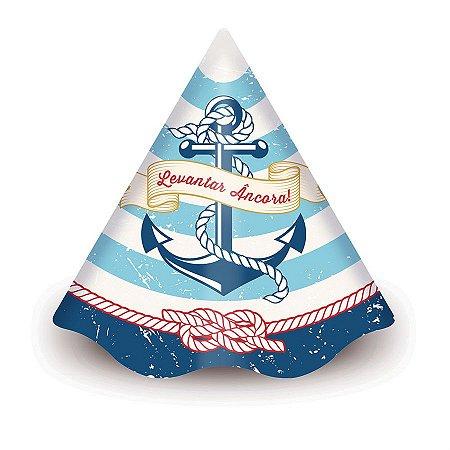 Chapéu de Aniversário - Marinheiro c/ 8 unidades