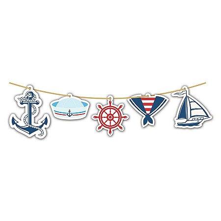 Faixa Decorativa - Marinheiro c/ 1 unidade