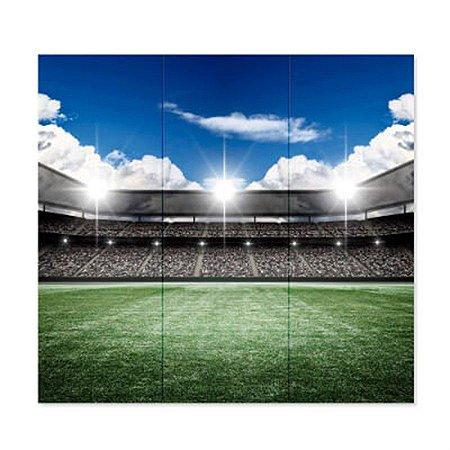 Painel Gigante 6 Lâminas - Futebol c/ 1 unidade