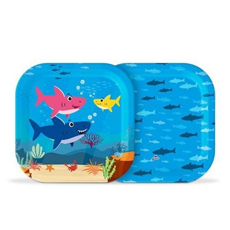 Prato - Family Shark c/ 8 unidades