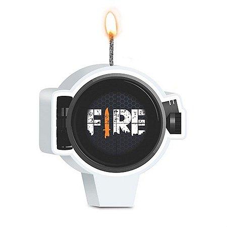 Vela - Free Fire c/ 1 unidade