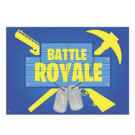 Painel 4 Lâminas - Battle Royale c/ 1 unidade