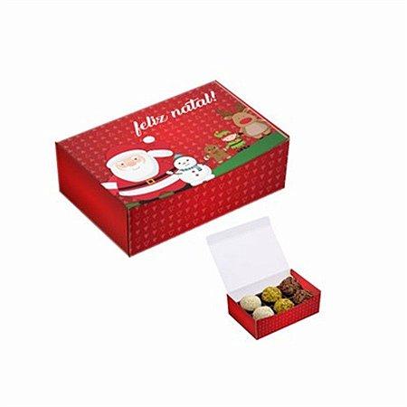 Caixas para Doces - Natal c/ 6 unidades
