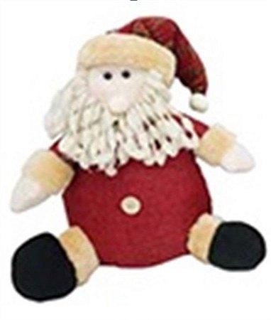 Enfeite Papai Noel de Pano 35,5 cm - Natal c/ 1 unidade