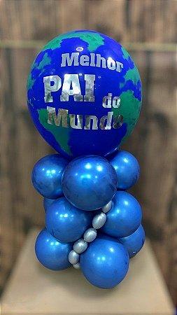 Bouquet de Balões Inflados - Arranjo  Dia dos Pais