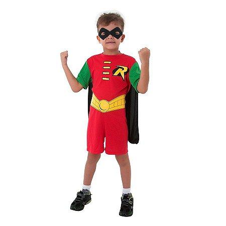 Fantasia Robin Pop Infantil