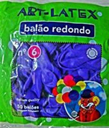 BALÃO LATEX 6 LISO