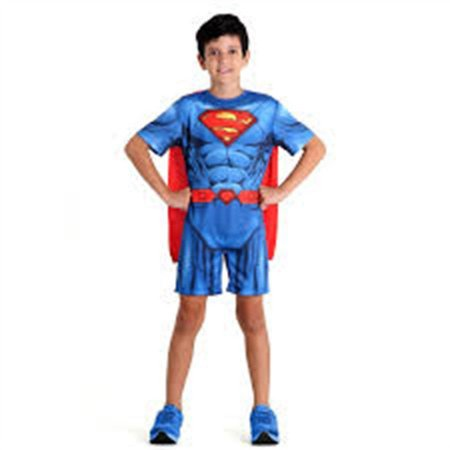 Fantasia Infantil Super Homem Pop