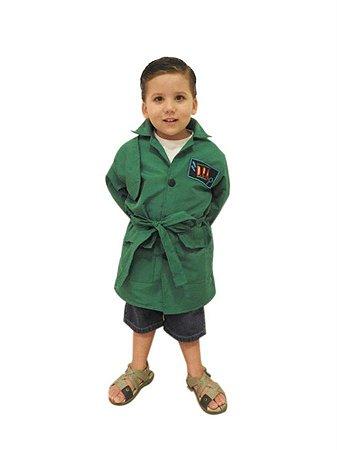 Capa Infantil DPA - Detetives do Prédio Azul - Cor Verde