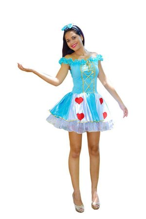 Fantasia Alice no País das Maravilhas Adulto