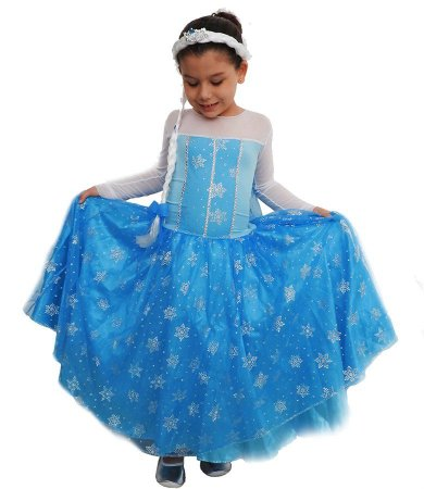 Fantasia Frozen Elsa Infantil