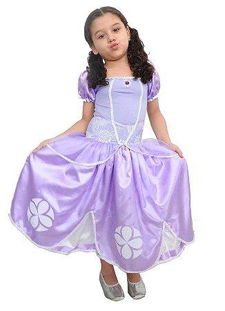 Fantasia Infantil Princesinha Sofia