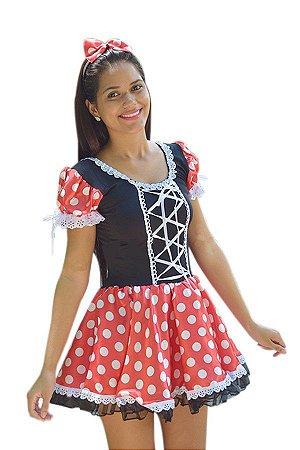 Fantasia Minnie Adulto