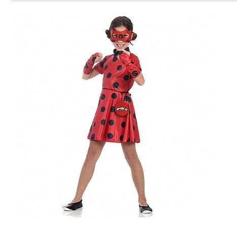 Fantasia Ladybug Miraculous Vestido