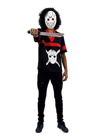 Fantasia Jason Masculino Adulto Halloween