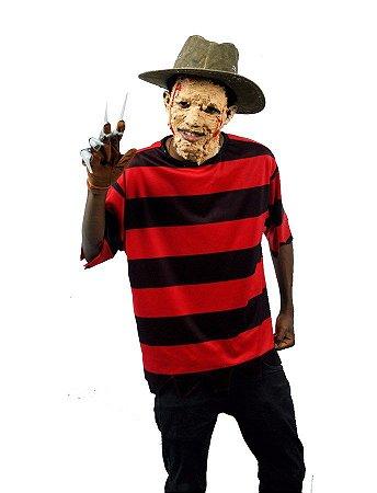Fantasia Freddy Krueger Masculina Adulto Halloween