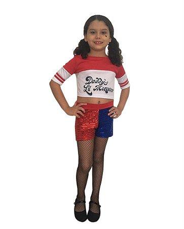Fantasia Arlequina Infantil