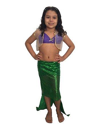 Fantasia Sereia Infantil