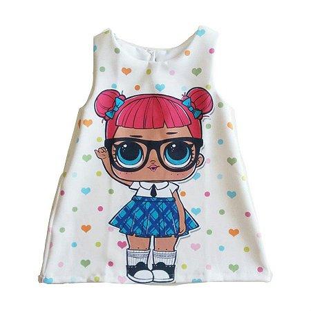 Fantasia Vestido Infantil Boneca LOL Teacher's Pet
